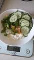 17:00 творог-75 и огурцы с зеленым перцем