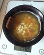 9:00 суп чечевичный с хлебом