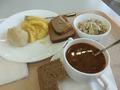 Обед в столовой - 400 руб.
