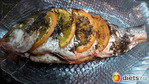Рыба любая -а у меня Дорадо -запеченная с апельсинами
