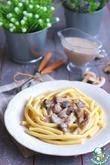Соус сливочно-грибной к макаронам