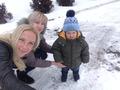 Мои любимые дочери с внуком