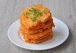 Альтернатива пп гарниру - морковные оладьи