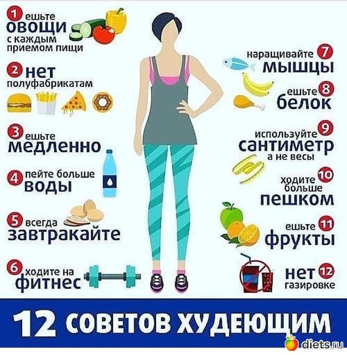 Какие правила для похудения