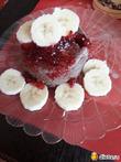 Вкусный завтрак из овсянки и фруктов, без муки и сахара-в микроволновке.