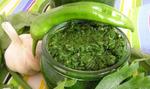 Рецепт аджики, но зеленой