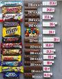 Шоколадки и их калории