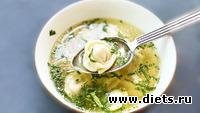 Простой суп с пельмешками который съедается подчистую всегда