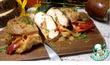 Куриная грудка фаршированная овощами и сыром
