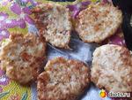 Капустно-сырные оладьи