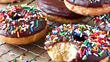 Шоколадные пончики как в Донатсе за 10 рублей