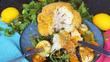 Осеннее наслаждение - Запеченная цветная капуста в сухарях с хрустящей корочкой и вкусными овощами