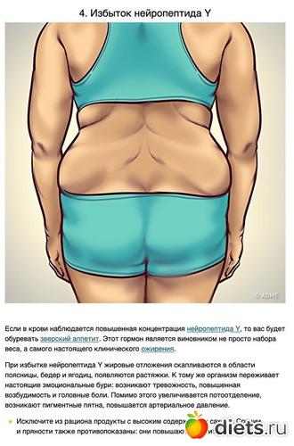 4 фото: Избыточный вес и гормоны