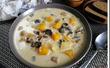 Сырный суп с тыквой и шампиньонами