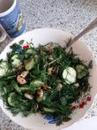 Летний салатик с морепродуктами