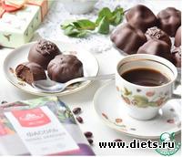 Шоколадные конфеты из фасоли