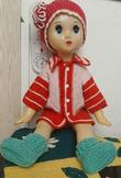 Кукла Наташа из  Нижнего Рыстюга
