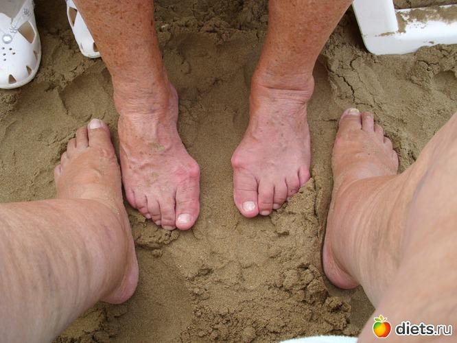 фото ножки старушек